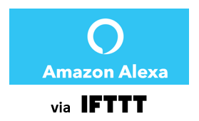 WeBeHome works with Alexa via IFTTT