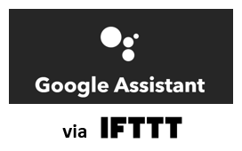 WeBeHome works with Google Assistant via IFTTT